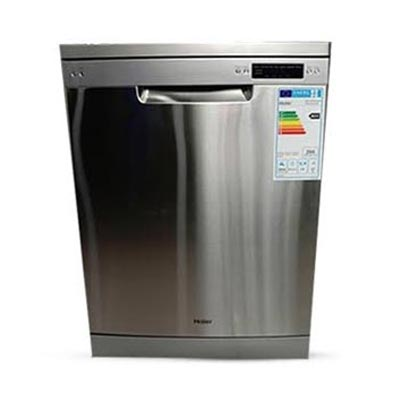Haier 8 Programmes Free Standing Dishwasher DW14-KFFSS