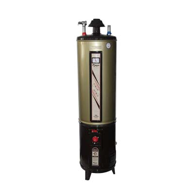 Rays 55 Gallons Electric and Gas Storage Geyser 55G Twin DELUXE