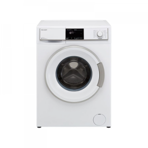 Sharp 9 Kg Front Load Washing Machine ES-FE912BZ-WC