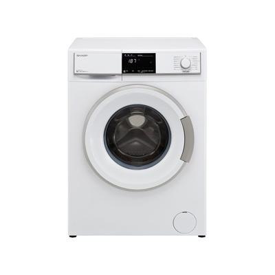 Sharp 9 Kg Front Load Washing Machine ES-FE912BZ-WC