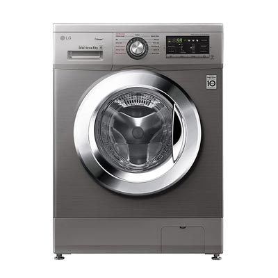 Front Load Washer FH4G6TDY6, 8 Kg, 6 Motion Direct Drive, Steam Technology