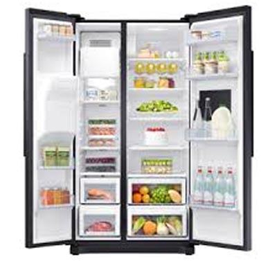 Samsung RS50N3913BC Refrigerator side by side