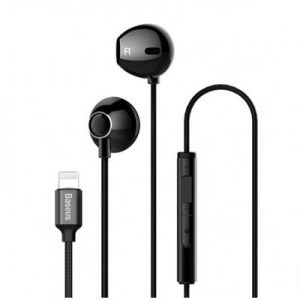 Baseus NGP06-01 iP Digital Earphone P06 Black